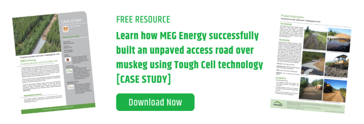 Paradox Free Resource - Learn how MEG Energy built successful unpaved acccess roads over muskeg