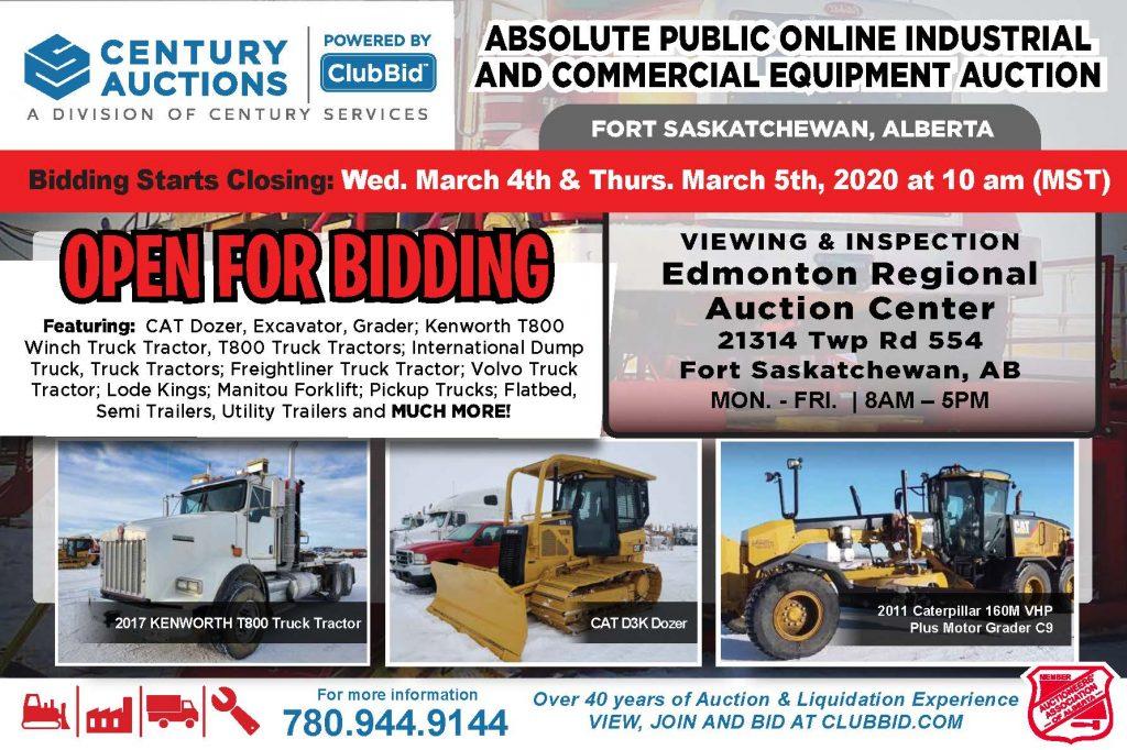 Century Services Placard Build (Industrial Equipment Auction ERAC) 1.28.2020 v.7