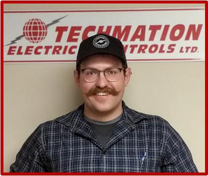 Techmation Electric - Matt Harris - Branch Manager Red Border
