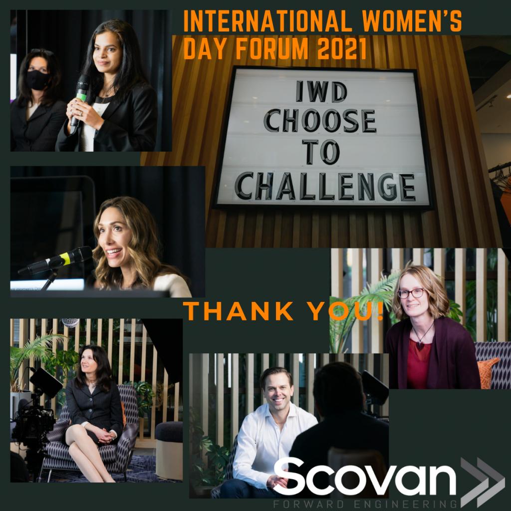 Scovan hosts 3rd Annual International Women's Day Forum