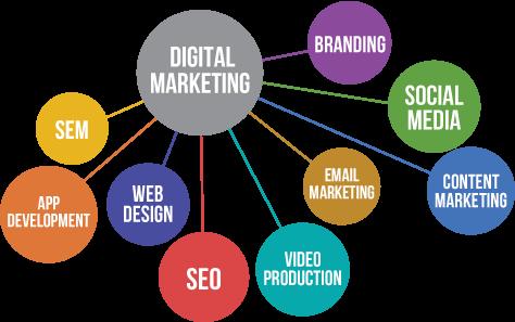 Digital Marketing Infograph