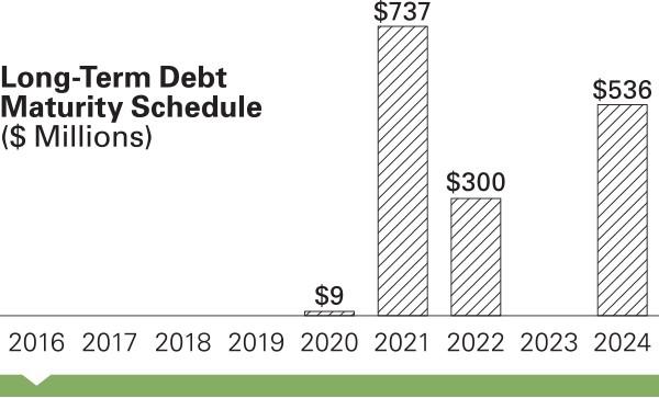 Long-Term Debt Maturity Schedule